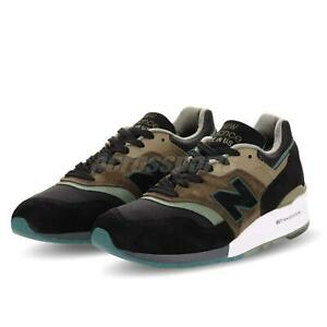 New-Balance-M997PAA-D-Made-In-USA-Black-Olive-Men-Running-Shoes-Sneaker-M997PAAD