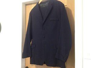 Details About Bespoke Midnight Blue Gauntlet Cuffs Mens Suit James Bond Christmas Sale