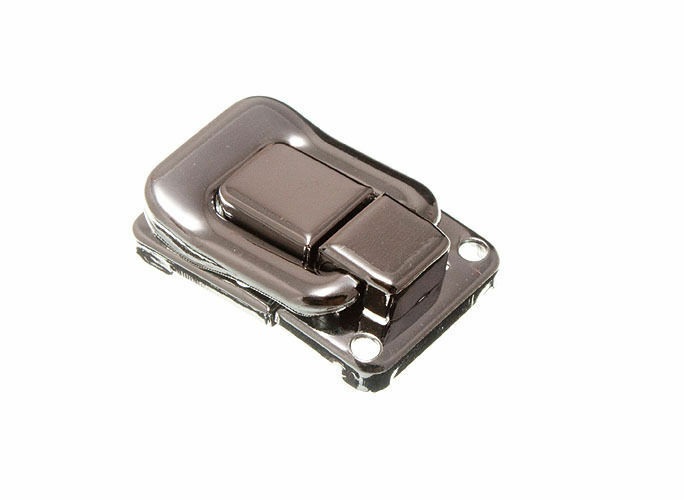 Menge von 10 Koffer Schließe Knebel Truhe Box Riegel 39mm X 29mm Np mit