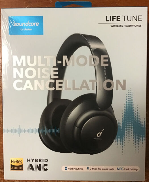 Anker Soundcore Life Tune Wireless Over Ear Bluetooth Headphones 40H Playtime