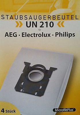 Staubsaugerbeutel MicrofiltPlusUN 210 AEG Electrolux Philips Volta 14 Stück | eBay