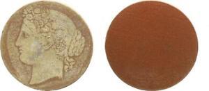 Amical Weimar Parchemin Hartpappe échantillon Pour Un 3 Mark Pièce Environ 1925 Tête Germanie (2)-afficher Le Titre D'origine