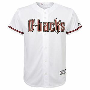 Image is loading 55-MAJESTIC-Arizona-Diamondbacks-mlb-Baseball-Jersey-YOUTH- 5dac70d7a43