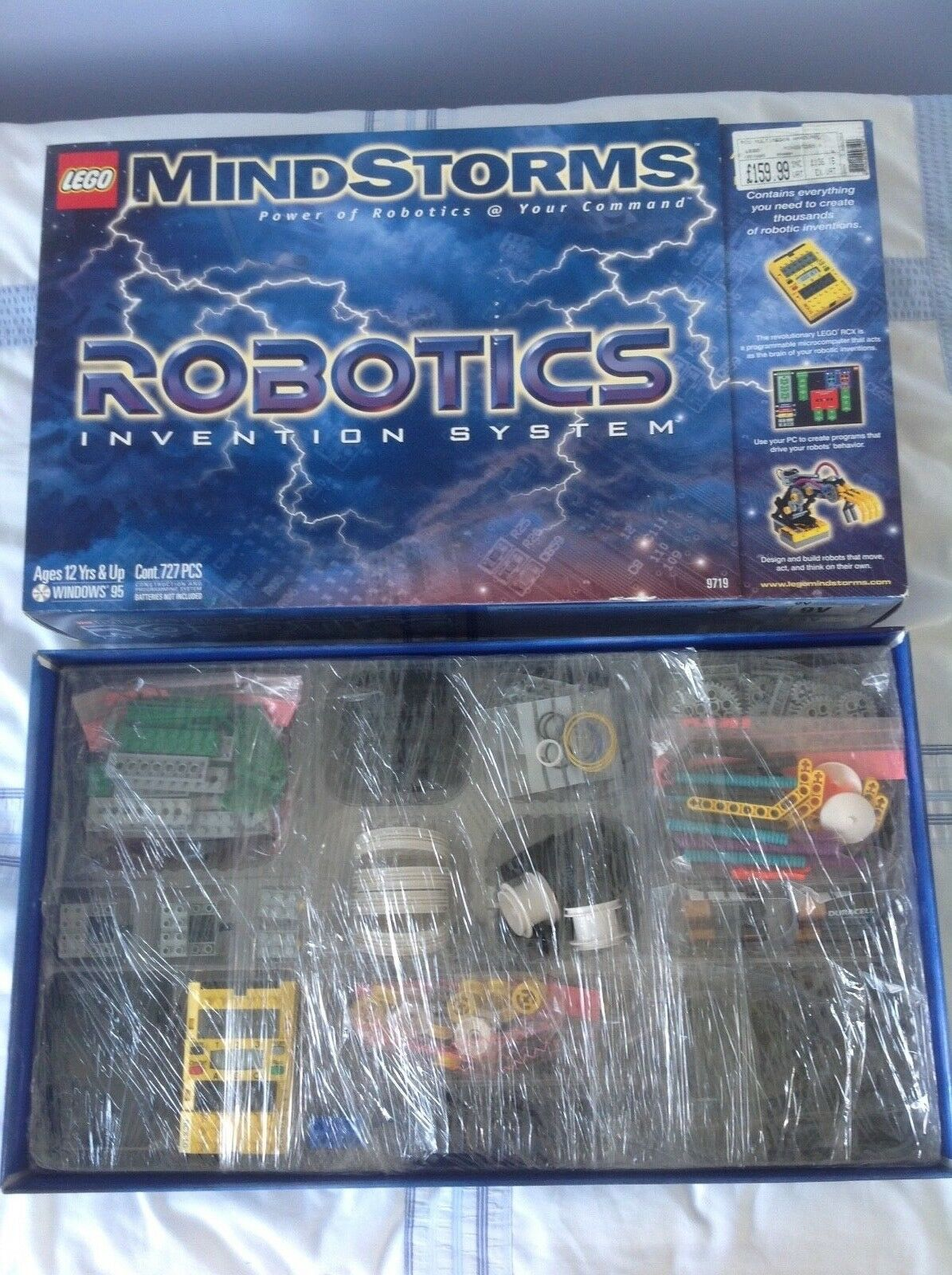 À la fin de l'année, j'ai acheté un grand groupe dix et rencontré environ dix groupe mille ménages. LEGO Mindstorms Robotics invention System 9719 Age 12Yrs & up 602759