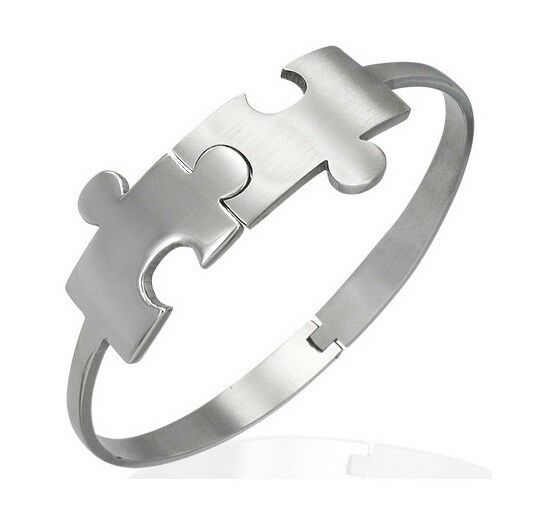 Stainless Steel Cuff Bangle Bracelet