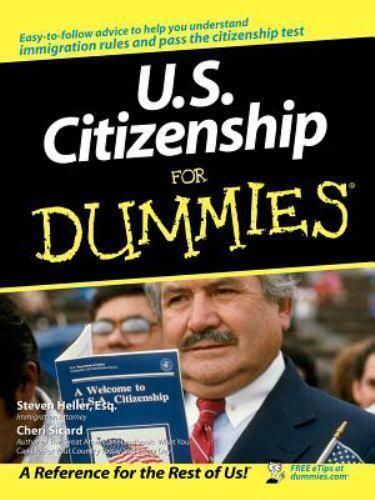 Sicard-U.s.citizenship Fd (UK IMPORT) BOOK NEW