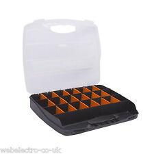 """10964 12,6 """"De Plástico Organizadora De Almacenamiento Caja De Herramientas 23 compartimiento partes Tornillos Clavos"""