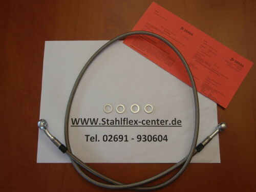 STAHLFLEX 110cm Stahlflex Bremsleitung Leitung NEU TÜV 110cm Bremse brake hose