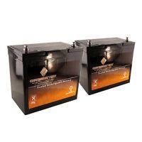 12v 35ah Sla Battery -t6 Replaces U1 Ub12350 Np-33 Dcs-33 U1-34 Ps-12350 - 2pk