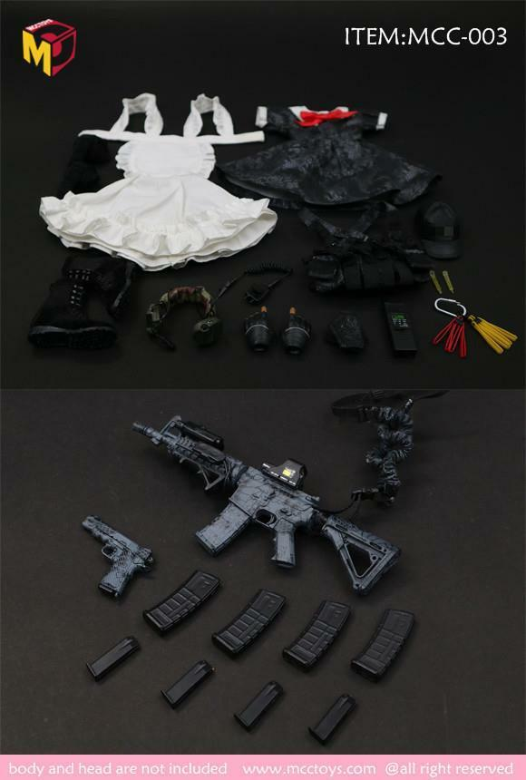Magic Cube Toys 1 6 scale Armed Maid Outfit Set 2.0 MC-C003