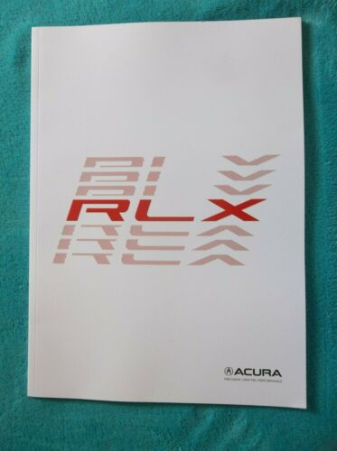42 PAGES! 2019 ACURA RLX BROCHURE NEW!