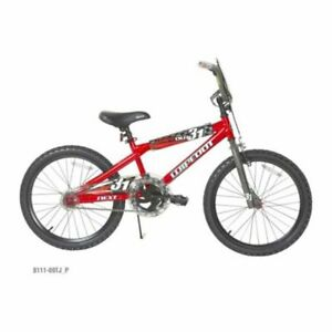 "New 20/"" Wheel NEXT Boys/' Wipeout Bike for Boys Kids Red BMX Steel Bicycle Frame"