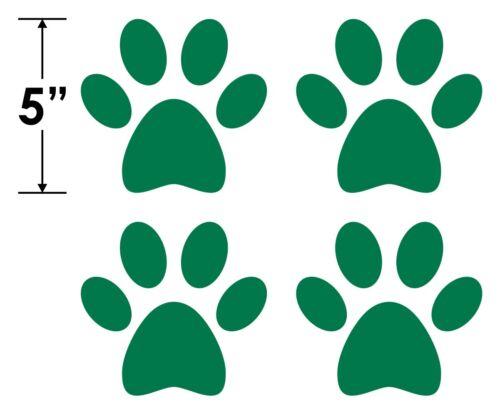 OPTIONS Paw Print StickersCute Pet Paws VinylAnimal Cat Dog Prints Decals
