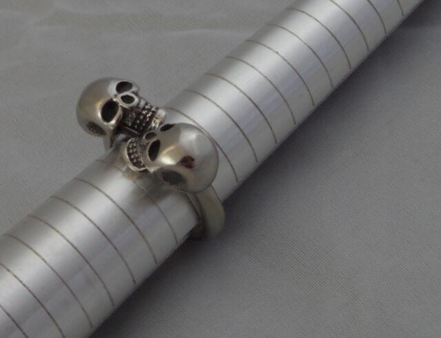 Anello in acciaio inox Teschi Gotico MISTICISMO Uomo