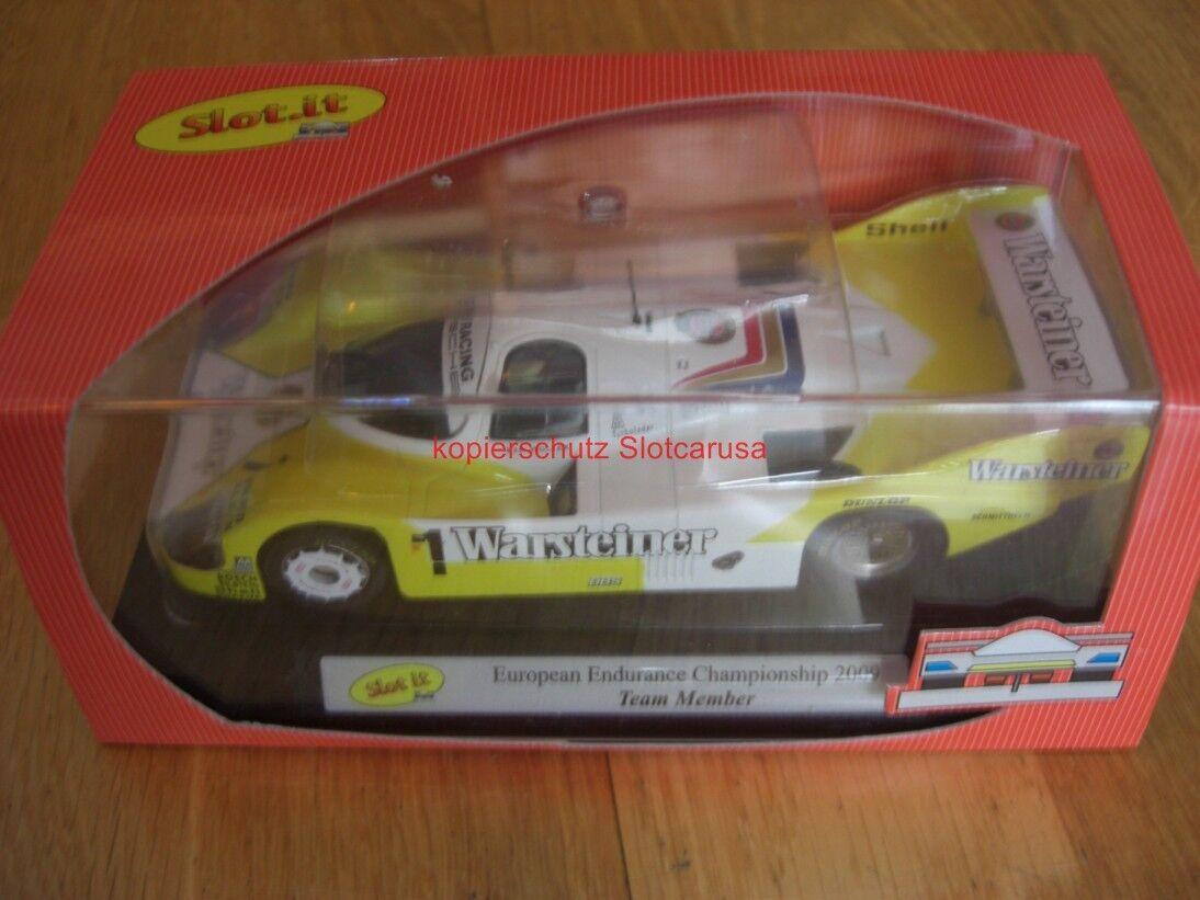 Slot  CA09C Porsche 956 Warsteiner European Endurance Championship Team Member