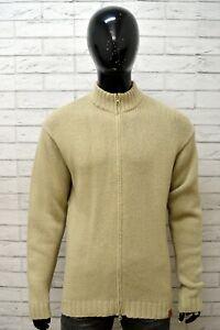 Maglione-TIMBERLAND-Uomo-Pull-Taglia-L-Pullover-Sweater-Maglia-Lana-Cardigan