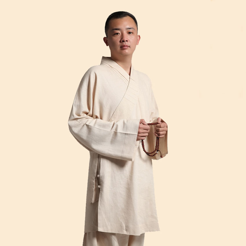 Rohan hot Fashion of Shaolin kung fu monks uniforms Takenori supplies