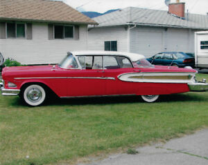 1958 Ford Edsel Citation - with Lincoln Options
