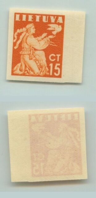 Lithuania 1940 SC 319 MNH imperf . d5248