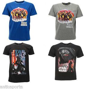 T-shirt-Originale-Star-Wars-4-modelli-Novita-bambino-Originali-Maglia-Maglietta