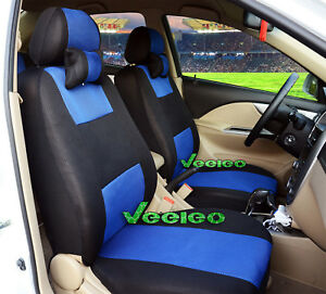 Image Is Loading Front Back 7 Colors Car Seat Covers For