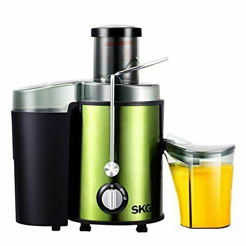 SKG Premium Whole Fruit Juicer - 450W Power 22,000 RPM High Yield(Green) 6912839120139