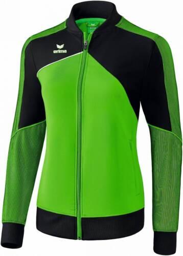 Erima Premium One 2.0 Präsentationsjacke grün-schwarz Damen NEU 91383