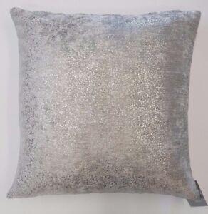 Argento-Glitter-Brillantini-Spessa-Grigio-Chiaro-in-Velluto-18-034-Copricuscino-7-99-ciascuno