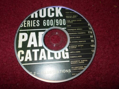 1990-1995 FORD TRUCK 600-900 SERIES COMPLETE MASTER PARTS CATALOG MANUAL CD