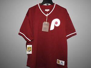 Mitchell-amp-Ness-Philadelphia-Phillies-Baseball-Jersey-New-Mens-MSRP-80