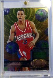 1997-97-98-Metal-Universe-Reebok-Silver-Allen-Iverson-Rookie-RC-20-76ers-HOF