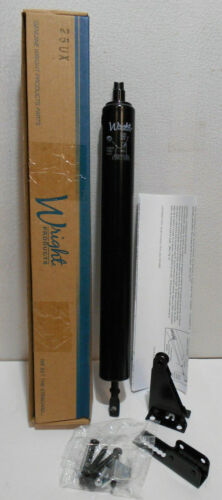 Lot of 2 New Wright V920BL STANDARD DUTY PNEUMATIC DOOR CLOSER BLACK