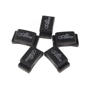 Alice-5pcs-Black-Rubber-Pick-Holder-Fix-on-Headstock-for-Guitar-Bass-Ukelel-M2I6