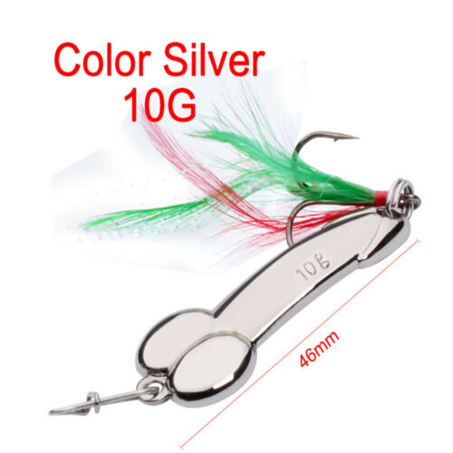 Fishing Bait Alloy Spoon Paisley Bait Metal Hook Tackle Spinner Fun Gifts P//