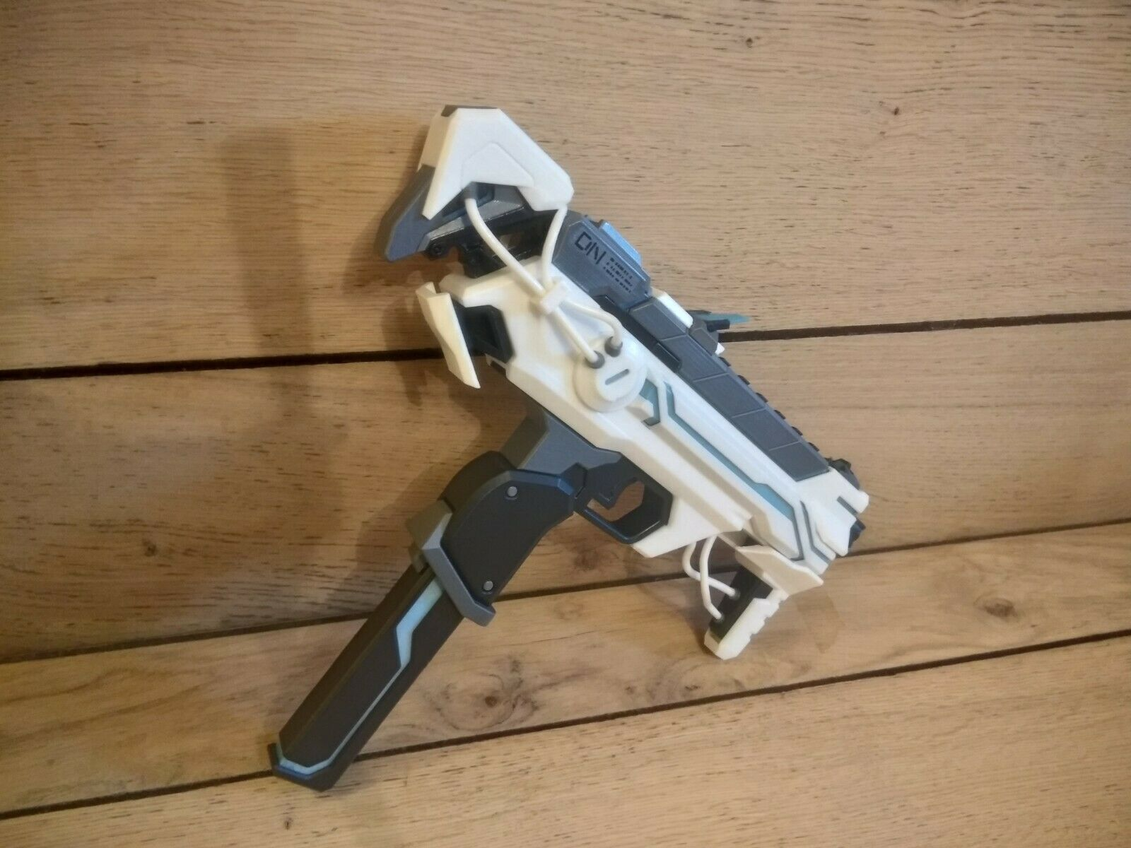 Sombra Augmented   Cyberspace - Cosplay - Overwatch Overwatch Overwatch - 3d printed acrilic painted 3ea654