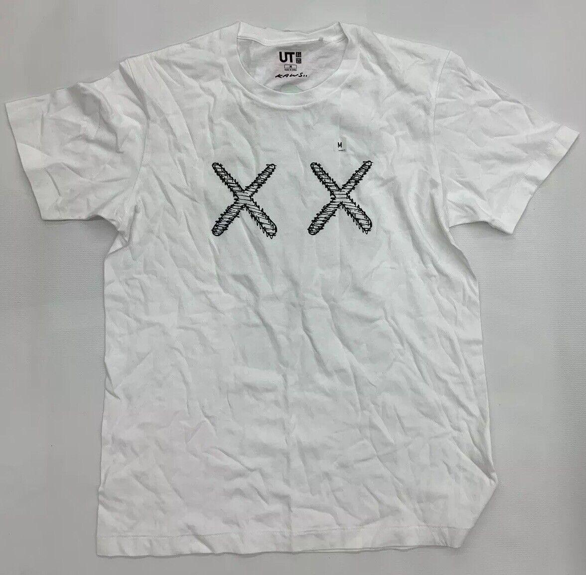 e0e898d1db269 Uniqlo Kaws XX Logo T Shirt Men Medium UT White BNWT nbcuay3268-T ...