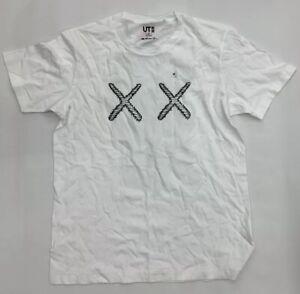 5b01839c4 Uniqlo Kaws XX Logo T Shirt Men Medium UT White BNWT | eBay