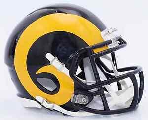 LOS ANGELES RAMS NFL Football Helmet BIRTHDAY WEDDING CAKE TOPPER
