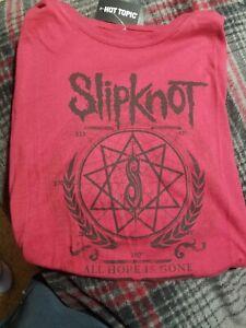 Slipknot-All-hope-is-gone-womens-shirt-xl