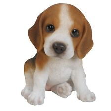 BRAND NEW BEAGLE PUPPY GARDEN ORNAMENT