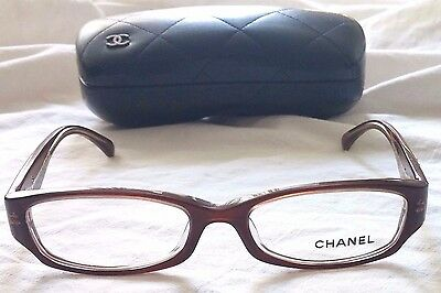 CHANEL Eyeglasses Floral Design 3198 Made in Italy (MSRP $726)
