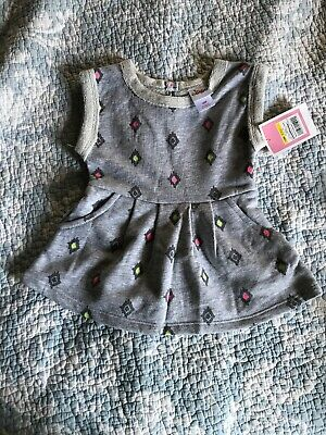 MSRP $38 NWT FREE SHIPPING! Design 365 Crochet Heart Toddler Dress