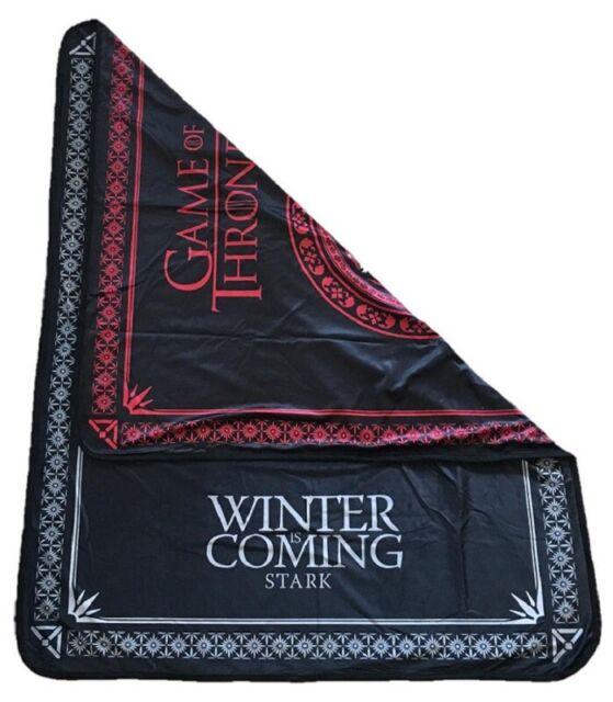 Game Of Thrones Two Sided Fleece Blanket House Targaryen Fire And
