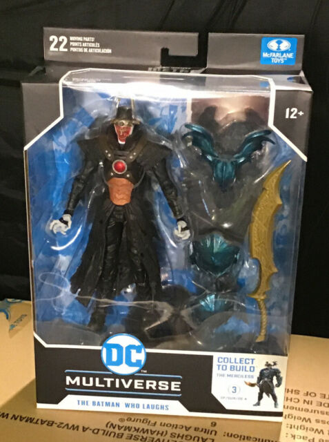 McFarlane DC Multiverse THE BATMAN WHO LAUGHS TYRANT WINGS  Collect to Build  #3