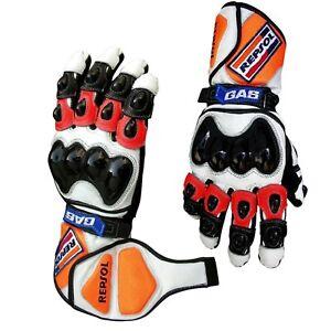 Repsol-Honda-Racing-Motorbike-Glove-Perfect-Grip-Leather-Motorcycle-Glove-MotoGP