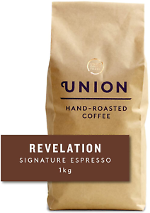Union Hand Roasted Coffee | Dark Roast | Revelation Espresso Coffee Beans 1kg