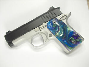 Details about Abalone Pearl Kimber Micro 9 Grips