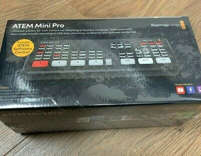 New Blackmagic Atem Mini Pro Live Stream To Twitch Youtube Facebook Ebay