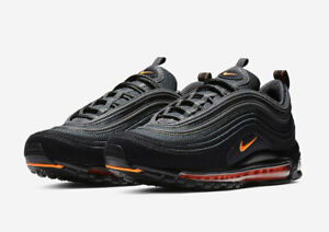Details about Nike MEN'S Air Max 97 Black Hyper Crimson SIZE 7, FITS WOMEN'S 8.5 BRAND NEW