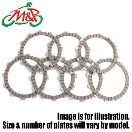 XS 650 1982 Set Clutch Friction Plates Fibre